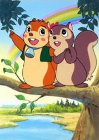 Anime: Puschel das Eichhorn