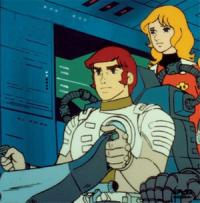 Anime: Captain Future: A brilliant race over the solar system