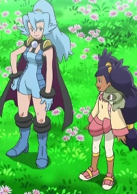 Anime: Pocket Monsters: Best Wishes! Season 2 - Decolora Adventure: Iris vs. Ibuki! Dragon Master e no Michi!!