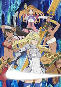 Anime: Sword Oratoria: Is it Wrong to Try to Pick Up Girls in a Dungeon? On the Side