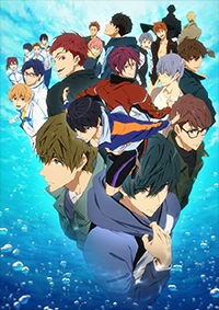 Anime: Free! Dive to the Future