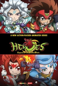 Anime: Heroes: Legend of Battle Disks