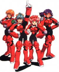 Anime: Metal Fighters: Frauen aus Stahl