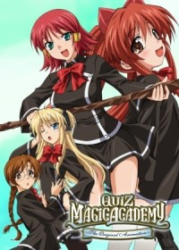 Anime: Quiz Magic Academy: The Original Animation