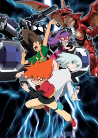Anime: Battle Spirits: Shounen Toppa Bashin