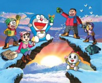 Anime: Doraemon: It's Winter!