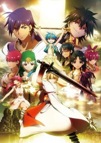 Anime: Magi: The Labyrinth of Magic