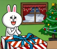 Anime: Merry Christmas From Line