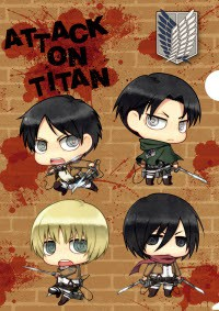 "Anime: Attack on Titan: Die Minifiguren-Show: ""Flieg! Trainingskorps!"""