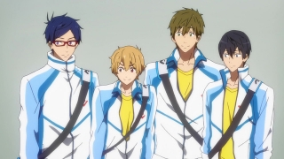 Streams: Free!: Iwatobi Swim Club