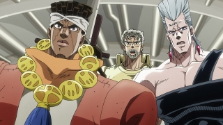 Streams: JoJo's Bizarre Adventure: Stardust Crusaders