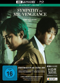 Sympathy for Mr. Vengeance - Limited Mediabook Collector's Edition [Blu-ray 4K]