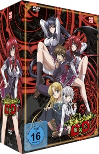 Highschool DxD - Vol.1/4 + Sammelschuber