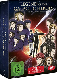 Legend of the Galactic Heroes: Die Neue These - Vol.6/6: Limited Edition + Sammelschuber