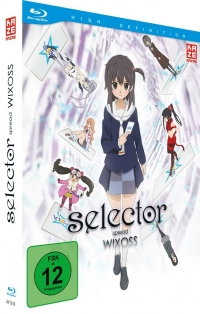 Selector Spread Wixoss - Vol.1/2: Limited Edition [Blu-ray] + Sammelschuber