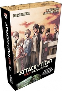 Attack on Titan - Vol.17: Special Edition (OwS) [Manga+DVD]
