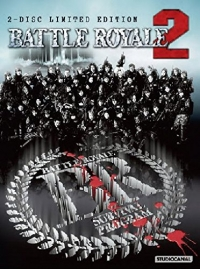 Battle Royale II - Limited Edition [Blu-ray]: Cover B