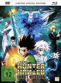 Hunter x Hunter - The Last Mission: Limited Mediabook Edition [Blu-ray+DVD]