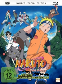 Naruto - Movie 3: Die Hüter des Sichelmondreiches - Limited Mediabook Edition [Blu-ray+DVD]