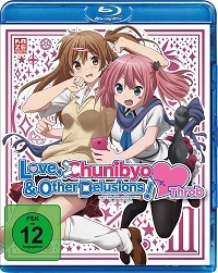 Love, Chunibyo & Other Delusions!: Heart Throb - Vol.3/4 [Blu-ray]