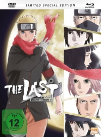 Naruto Shippuden - Movie 7: The Last - Limited Mediabook Edition [Blu-ray+DVD]