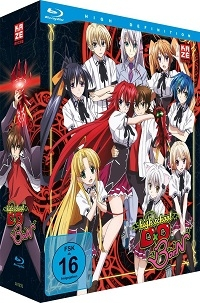 Highschool DxD BorN - Vol.1/4: Limited Edition [Blu-ray] + Sammelschuber