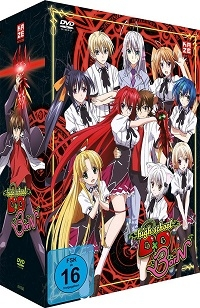 Highschool DxD BorN - Vol.1/4: Limited Edition + Sammelschuber
