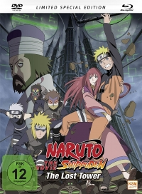 Naruto Shippuden - Movie 4: The Lost Tower - Limited Mediabook Edition [Blu-ray+DVD]