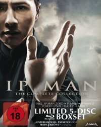 Ip Man: The Complete Collection - Limited Edition [Blu-ray]
