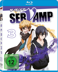 Servamp - Vol. 3/4 [Blu-ray]