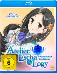 Atelier Escha & Logy: Alchemists of the Dusk Sky - Vol.3/3 [Blu-ray]