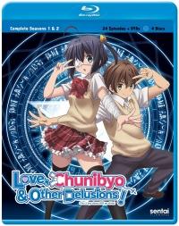 Love, Chunibyo & Other Delusions!: Season 1+2 - Complete Series [Blu-ray]