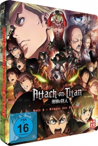 Attack on Titan: Teil 2 - Flügel der Freiheit: Limited Steelbook Edition [Blu-ray]