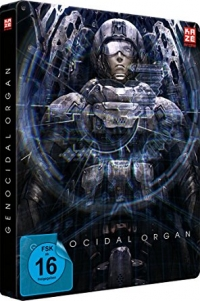 Project Itoh: Genocidal Organ - Collector's Steelbook Edition [Blu-ray + DVD]