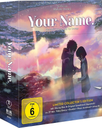 Your Name.: Gestern, heute und für immer - Limited Collector's Edition [Blu-ray] + Soundtrack
