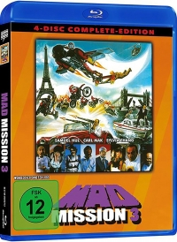 Mad Mission 3 (Uncut) [Blu-ray+DVD]