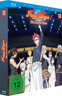 Food Wars!: The Second Plate - Vol.1/2 + Sammelschuber [Blu-ray]