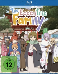 The Eccentric Family - Vol. 1/2 [Blu-ray]