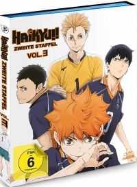 Haikyu!!: Staffel 2 - Vol.3/4 [Blu-ray]