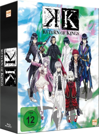 K: Return of Kings - Vol. 1/3 [Blu-ray] + Sammelschuber