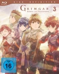 Grimgar, Ashes and Illusions - Vol.3/3 [Blu-ray]
