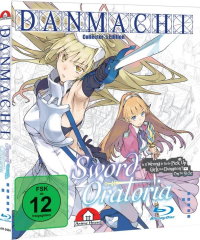 DanMachi: Is It Wrong to Try to Pick Up Girls in a Dungeon? - Sword Oratoria - Vol. 1/4: Collector's Edition [Blu-ray]
