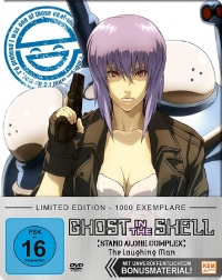 Ghost in the Shell: Stand Alone Complex - The Laughing Man: Limited Steelbook Edition