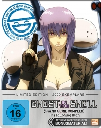 Ghost in the Shell: Stand Alone Complex - The Laughing Man: Limited FuturePak Edition [Blu-ray]