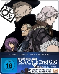 Ghost in the Shell: Stand Alone Complex 2nd GIG - Individual Eleven: Limited Steelbook Edition [Blu-ray]
