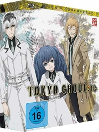 Tokyo Ghoul:re - Vol.1/4: Limited Edition [Blu-ray] + Sammelschuber