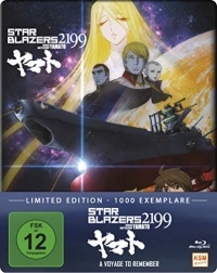Star Blazers 2199: Space Battleship Yamato - A Voyage to Remember: Limited Steelbook Edition [Blu-ray]