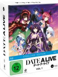Date a Live - Vol. 1/3: Limited Steelcase Edition [Blu-ray] + Sammelschuber