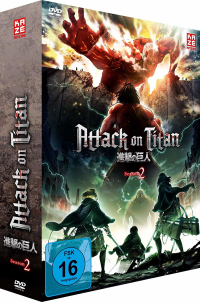 Attack on Titan: Season 2 - Vol.1/2: Limited Edition + Sammelschuber