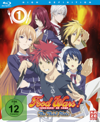 Food Wars!: The Third Plate - Vol.1/4 [Blu-ray]